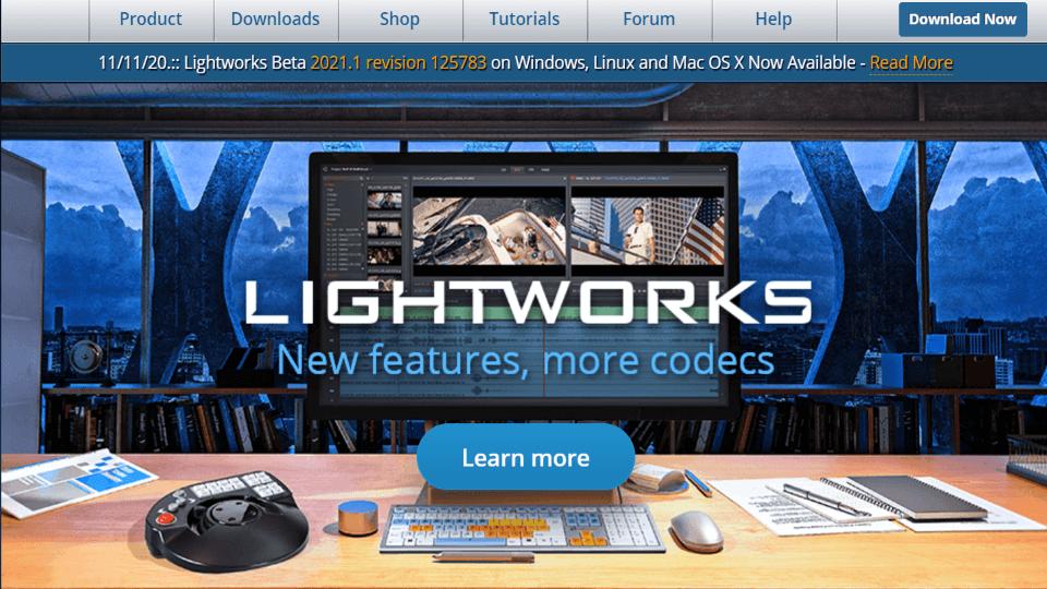 【windows向け】動画制作フリーソフト Lightworks